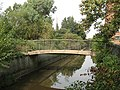 Footbridge to nowhere - geograph.org.uk - 1496489.jpg