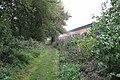 Footpath beside Gog Brook south of Warwick Racecourse - geograph.org.uk - 1462923.jpg