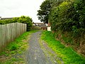 Footpath between Lynn Crescent and Mourne Grange - geograph.org.uk - 1441267.jpg