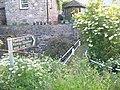 Footpath in Hartley village - geograph.org.uk - 1408283.jpg