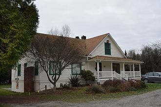Forbes Creek (Washington) - The second Forbes House, built 1905