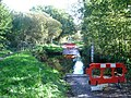 Ford across the Bourne in Lovelands Lane - geograph.org.uk - 73359.jpg