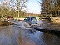 Fording Dockens Water, Moyles Court, New Forest - geograph.org.uk - 312867.jpg