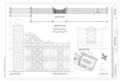 Formal Garden Details featuring Main Gate Details and Iron Work Detail - Fenwick Hall Plantation, Northeast of intersection of River Road and Maybank Highway, HABS SC,10-CHAR,413- (sheet 16 of 16).png