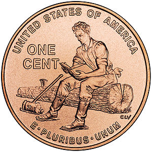 2009 in the United States - February 12: 2009 U.S. penny commemorating 200th anniversary of Lincoln's birth