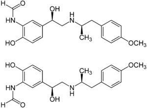 Struktur von Formoterol