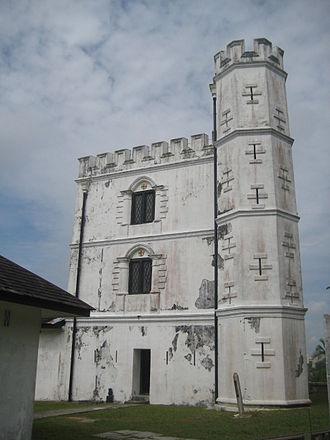 Fort Margherita - Fort Margherita - the main tower