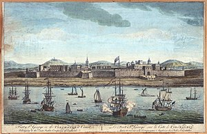 British Empire - Fort St. George was founded at Madras in 1639.