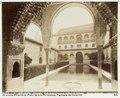 Fotografi av Granada. Alhambra, Patio de los Arrayanes, fachada de invierno - Hallwylska museet - 104831.tif