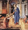Fra Filippo Lippi - Annunciation with two Kneeling Donors - WGA13199.jpg
