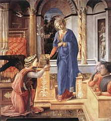 Annunciation with two Kneeling Donors