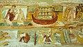 Fragment des fresques de la nef de l'église de Saint-Savin (Compartiments C4 à D5) DSC 1690.jpg