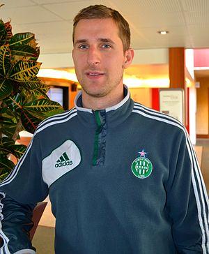 François Clerc - Clerc with Saint-Étienne in 2013