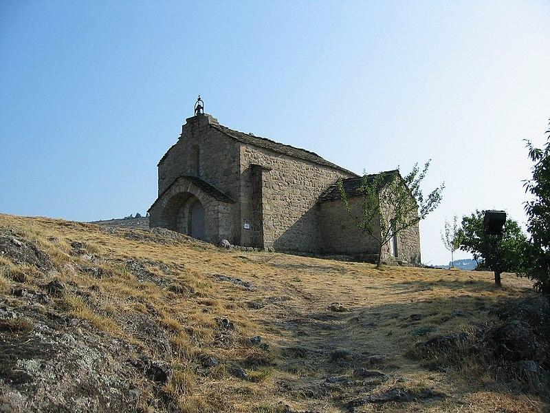 Chapelle Saint-Loup à Villefort en Lozère (France)