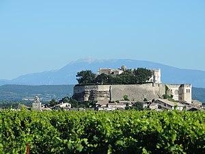 Drôme - Image: France Provence Grignan castle château