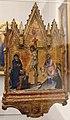 Francesco di vannuccio, crocifissione coi dolenti e madonna in trono, 1370-1400 ca. 02 (siena).JPG