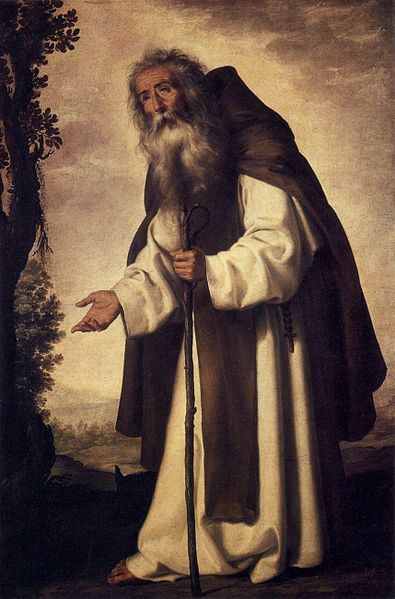 Francisco de Zurbarán - St Anthony Abbot