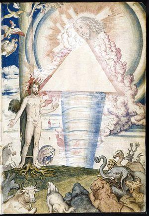 Francisco de Holanda - Francisco de Holanda: The Creation of Man, detail from De aetatibus mundi imagines