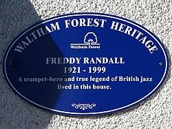 Freddy randall 1921 1999