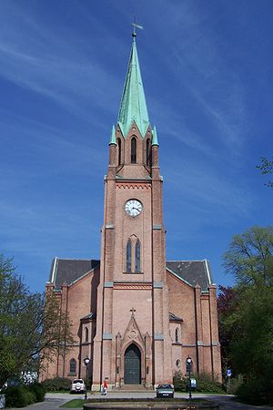 Fredrikstad Cathedral - Image: Fredrikstad Cathedral 01
