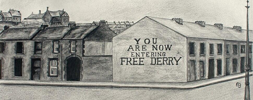 Free Derry Corner in 1969