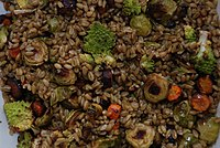 Freekeh with roasted vegetables.jpg