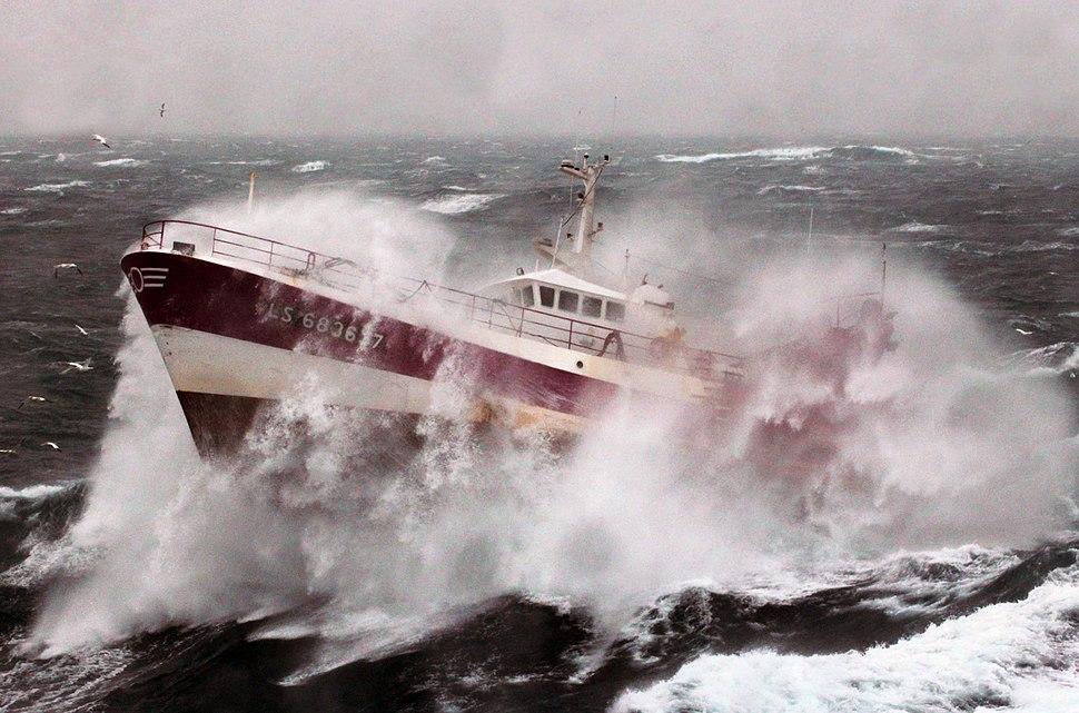 French Fishing Vessel 'Alf' in the Irish Sea MOD 45155246