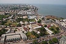 Gabon-Population centres-Front de mer