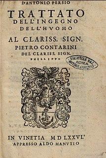 Antonio Persio Italian philosopher
