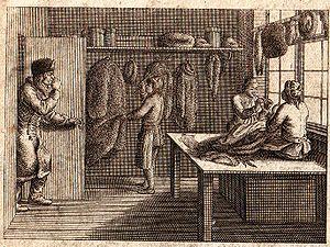 Benoît de Boigne - Fur shop of the time