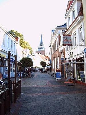 Aurich - Aurich town centre's pedestrian zone