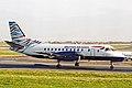 G-LGNB 2 Saab SF.340B British Aws(Loganair) MAN 04JAN03 (8313083609).jpg