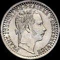 GOW 5 kreuzer 1858 V obverse.jpg
