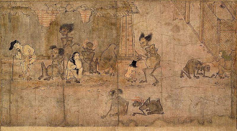 Le Rouleau des êtres affamés 800px-Gaki-Zoushi