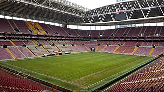Türk Telekom Stadium - View of the stadium from the southeast stand corner, June 2017