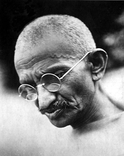 File:Gandhi thinking mood 1931.jpg