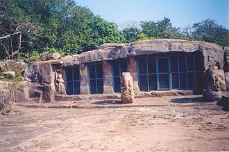 Ganesha in world religions - Ganeshagumpha (cave no-10) Udayagiri
