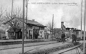 Image illustrative de l'article Gare de Saint-André-de-Lidon