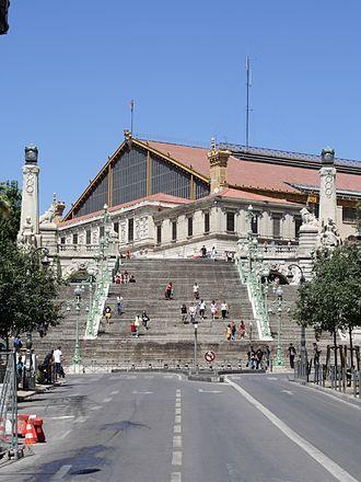 Marseille-Saint-Charles Station - Image: Gare de Saint Charles Marseille FRA 001