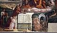 Garofalo, allegoria dell'antico e nuovo testamento con trionfo della chiesa sulla sinagoga, 1523, da s. andrea a ferrara 06.jpg