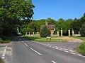 Gatehouse on corner of Shotts Lane - geograph.org.uk - 174731.jpg