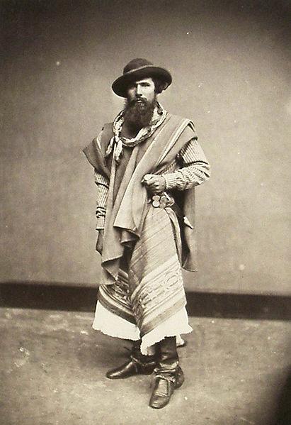 Файл:Gaucho, Argentinien, Anonym, 1868-1876.jpg