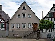 The Mesmerhaus in Meßkirch, where Heidegger grew up.