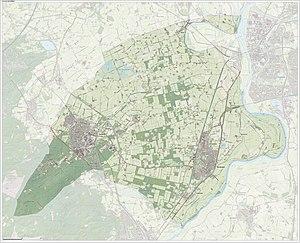 Brummen - Dutch Topographic map of Brummen, June 2015