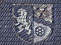 Gemeindewappen am Gemeindehaus von Gillersdorf.JPG