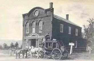 Sandwich, New Hampshire - General store and post office c. 1910