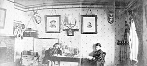 George Armstrong Custer and wife Fort Lincoln Dakota Territory