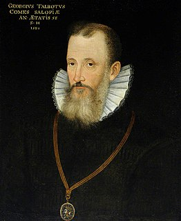 George Talbot, 6th Earl of Shrewsbury English magnate and military commander