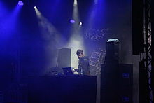 German DJ Shed performs at Melt! music festival.JPG