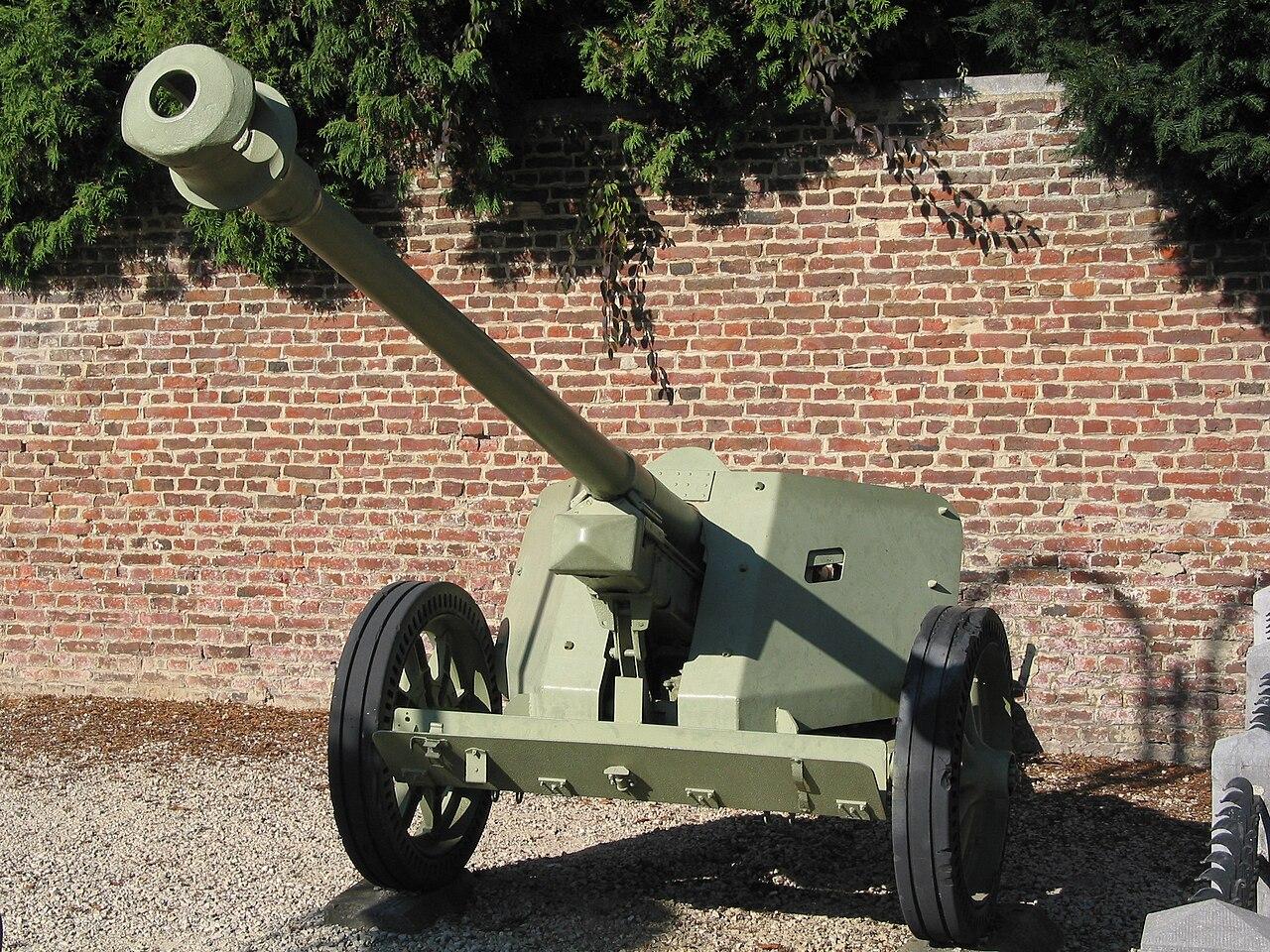 German 50 Mm Anti Tank Gun: File:German PaK 40 75mm Anti-tank Gun In Burdinne.jpg